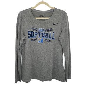 Womens Nike Hill School Softball T-Shirt